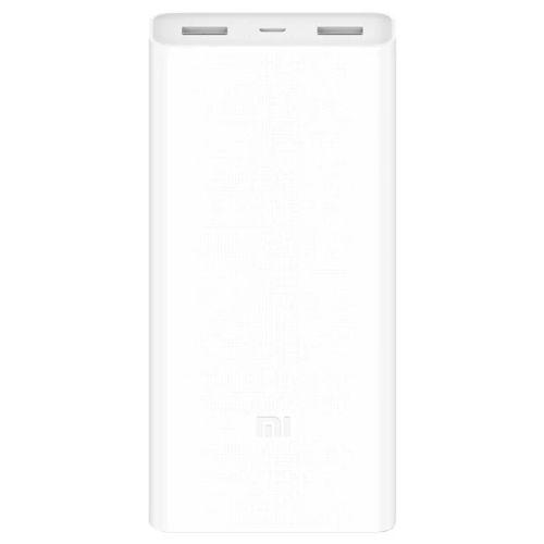Портативный внешний аккумулятор Xiaomi Mi Power Bank 2C 20000 белый