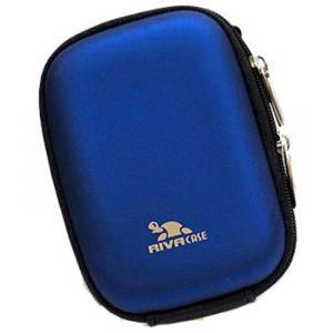 Сумка для фотоаппарата Riva 7022 (PU) light blue сумка для фотоаппарата hama canberra 130 black blue