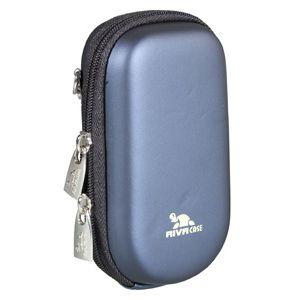Сумка для фотоаппарата Riva 7058 (PU) blue сумка для фотоаппарата hama canberra 130 black blue