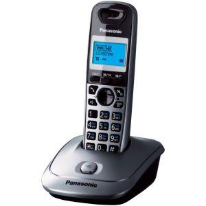 Телефон беспроводной DECT Panasonic KX-TG2511RUM атс panasonic kx tem824ru аналоговая 6 внешних и 16 внутренних линий предельная ёмкость 8 внешних и 24 внутренних линий