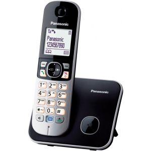 Телефон беспроводной DECT Panasonic KX-TG6811RUB радиотелефон dect panasonic kx tg6811rub черный