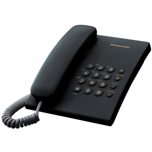 Телефон проводной Panasonic KX-TS2350 RUB радиотелефон dect panasonic kx tg6811rub черный
