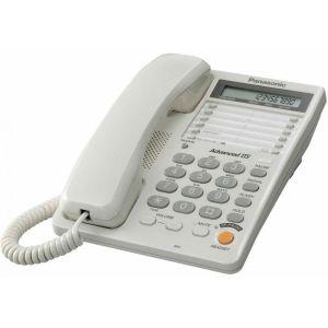 Телефон проводной Panasonic KX-TS2365RUW радиотелефон dect panasonic kx tg6811rub черный