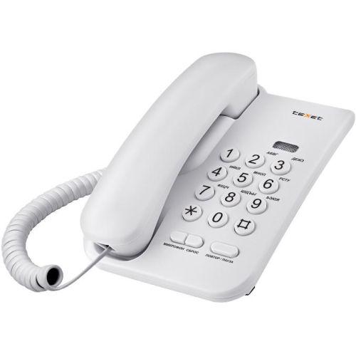 Купить со скидкой Телефон проводной Texet