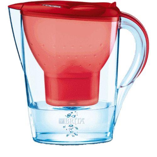 Фильтр для воды Brita Marella-XL, цвет красный