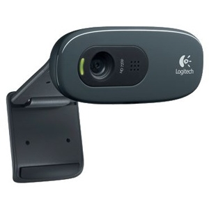 Веб-камера Logitech HD Webcam C270 logitech c270 720p 3 мп широкоформатный hd веб камера с видеотелефония и записи