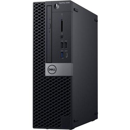 Системный блок Dell, Чёрный, Optiplex 5060 SFF i5 8500 / 8 / SSD 256 / UHDG 630 / Linux чёрный
