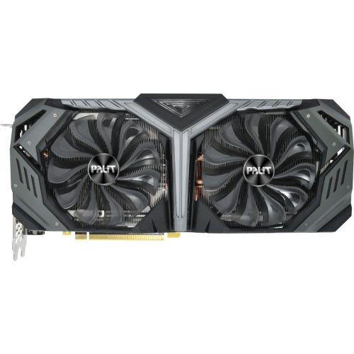 Видеокарта Palit PCI-E PA-RTX2070SUPER GR 8G nVidia GeForce RTX 2070SUPER 8192Mb 256bit GDDR6 1605/14000/HDMIx1/DPx3/Type-Cx1/HDCP Ret