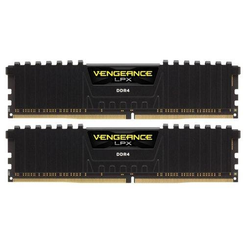 Оперативная память Corsair 2x4Gb DDR4 2666MHz CMK8GX4M2A2666C16 RTL PC4-21300 CL16 DIMM 288-pin 1.2В