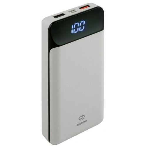 Портативный внешний аккумулятор Digma Power Delivery DG-20000-PL-W белый