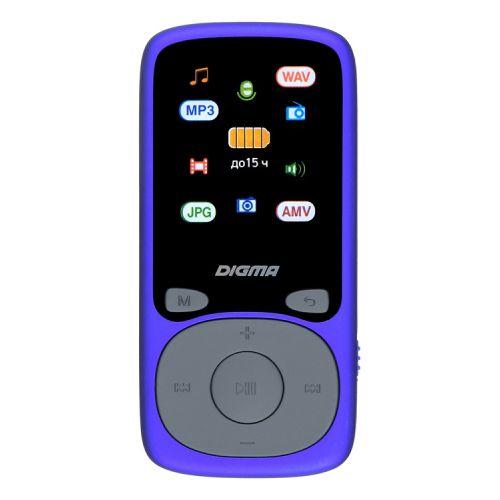 MP3 плеер Digma B4 синий