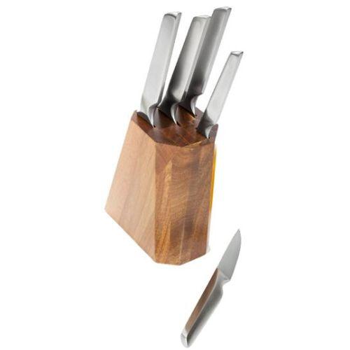 Набор ножей TalleR Стивентон 5 с подставкой