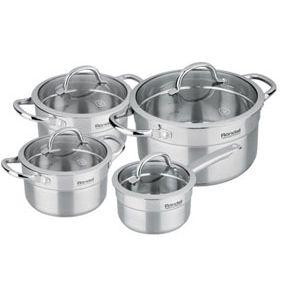 Набор посуды Rondell Creative RDS-389 8 предметов maped набор математический essentials 8 предметов с циркулем