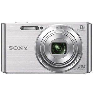 Цифровой фотоаппарат Sony Cyber-shot DSC-W830 silver фотоаппарат sony cyber shot dsc rx10m2
