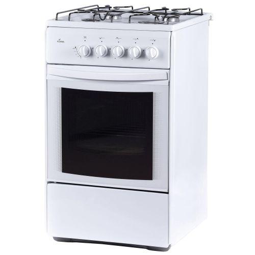 Газовая плита FLAMA RG24019-W белый белого цвета