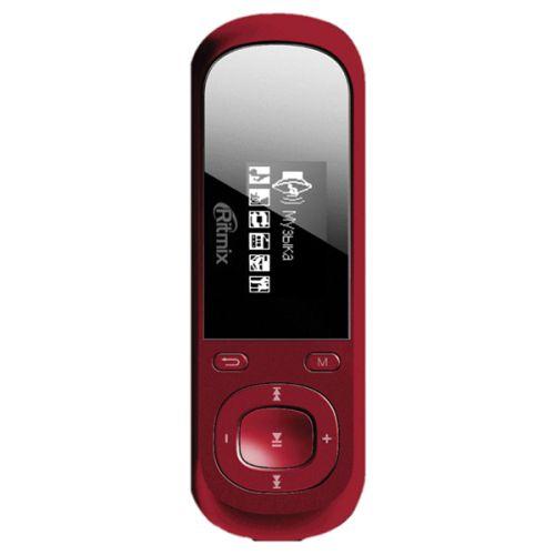 MP3 плеер Ritmix RF-3360 4Gb красный красного цвета