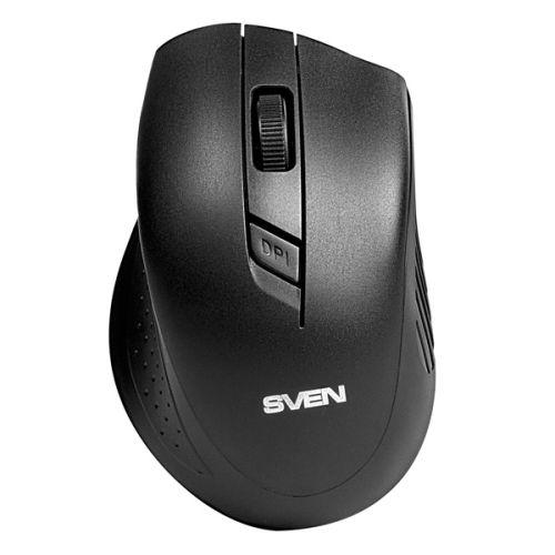 Мышь беспроводная Sven RX-325 черный черного цвета