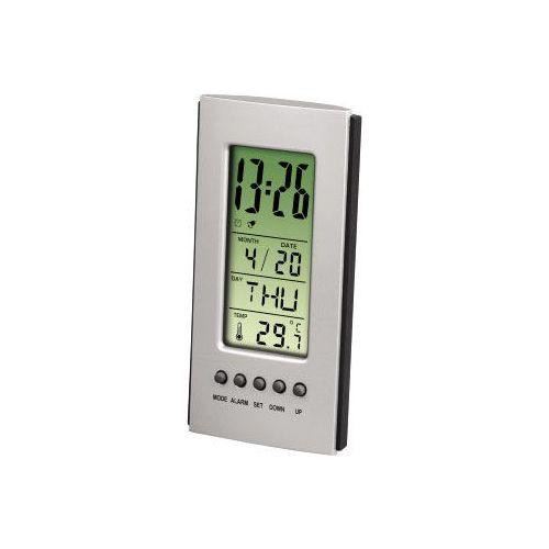 Термометр HAMA LCD Thermometer серебристый/черный цвет серебристый/черный