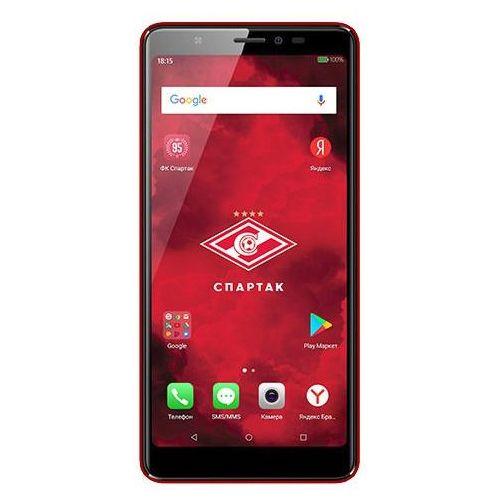 Смартфон BQ 5500L Advance (FC Spartak Edition) красный фото