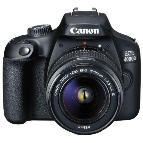 Зеркальный фотоаппарат Canon EOS 4000D Kit чёрный фото