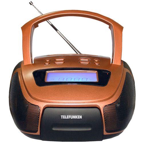 Магнитола Telefunken TF-SRP3461B бронзовый бронзового цвета