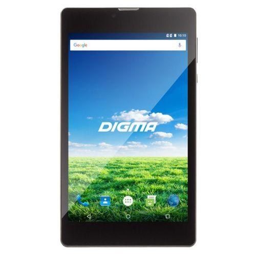 Планшетный компьютер Digma Plane 7700T 4G чёрный фото