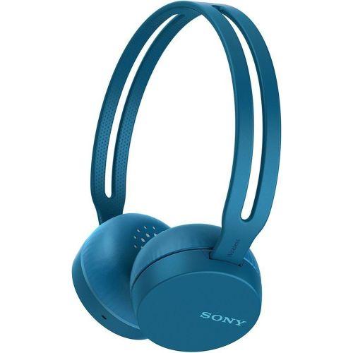 Беспроводные наушники Sony WHCH400L синий фото
