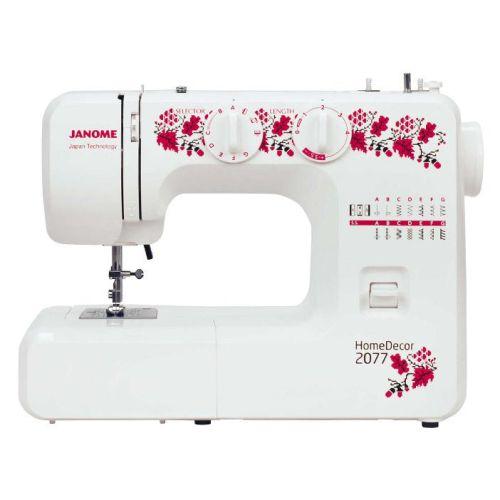 Швейная машина Janome HomeDecor 2077 фото
