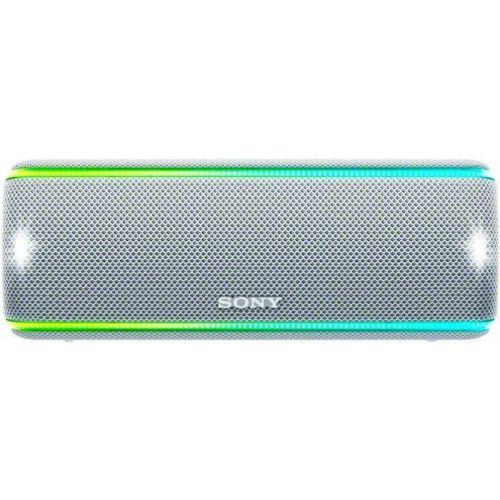 Портативная колонка Sony SRS-XB31 белый белого цвета