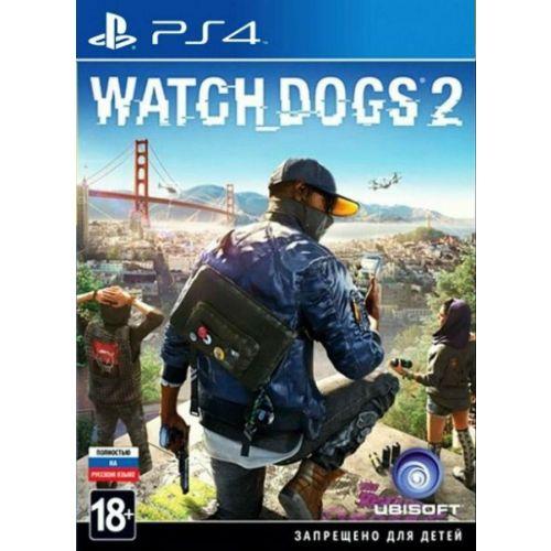 Игра для Sony PS4 Watch Dogs 2