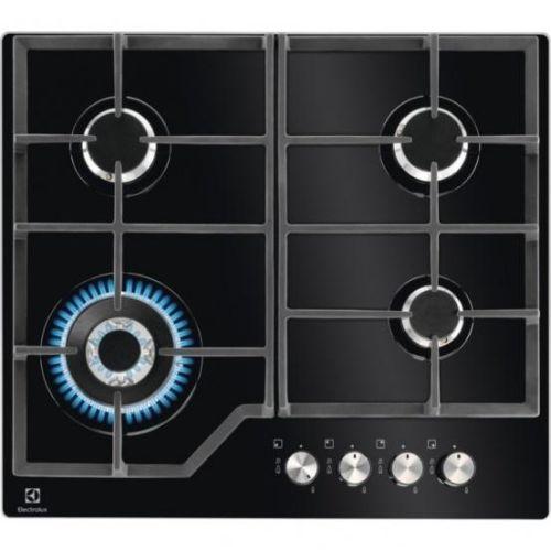 Встраиваемая газовая панель Electrolux GPE363YK черный черного цвета