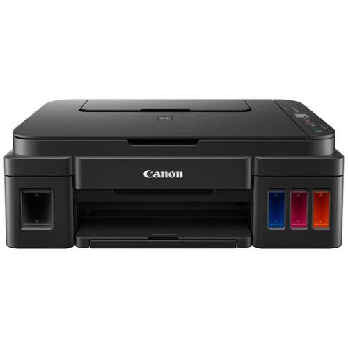 МФУ струйное Canon PIXMA G2411 черный черного цвета