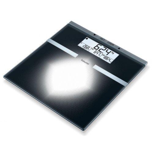 Весы напольные Beurer BG 21 чёрный фото
