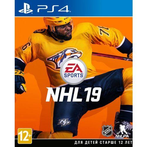 Игра для Sony PS4 NHL 19 русские субтитры фото