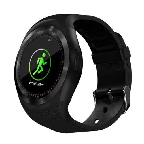 Смарт-часы KREZ Bono черный черного цвета