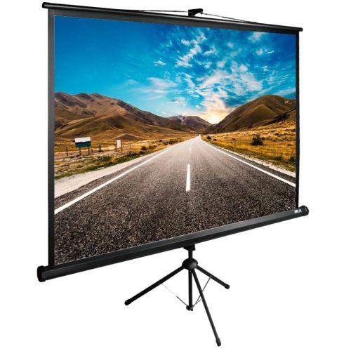Проекционный экран Cactus TriExpert CS-PSTE-160x160-BK 160x160