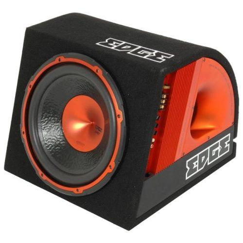 Автомобильный сабвуфер Edge EDB12A-E2 Active черный/оранжевый цвет черный/оранжевый