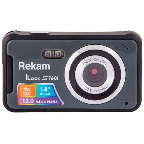 Цифровой фотоаппарат Rekam iLook S760i тёмно-серый тёмно-серого цвета