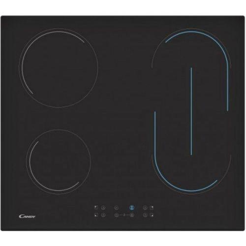 Встраиваемая электрическая панель Candy CH 64 BVT чёрный черного цвета
