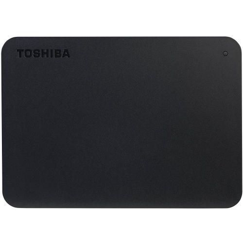 Внешний жёсткий диск Toshiba Canvio Basics (new) 2TB чёрный черного цвета