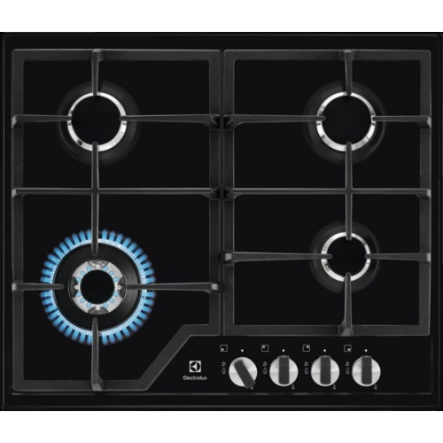 Встраиваемая газовая панель Electrolux GPE 363 MB чёрный черного цвета