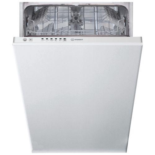 Встраиваемая посудомоечная машина Indesit DSIE 2B10 белый белого цвета