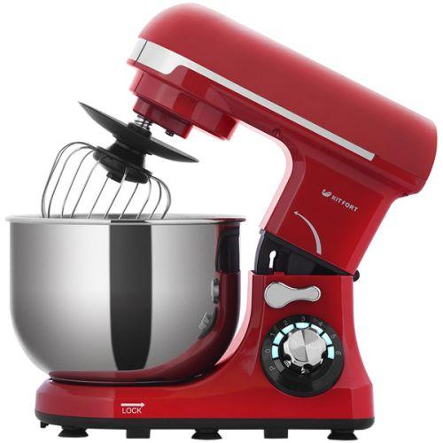 Миксер Kitfort KT-1337 красный/серебристый цвет красный/серебристый