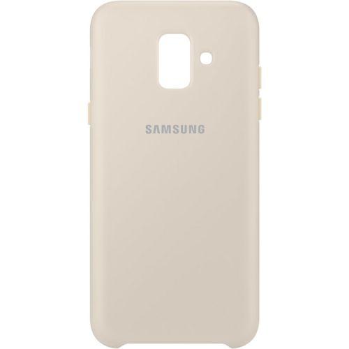 Накладка Samsung (EF-PA600CFEGRU) для Samsung Dual Layer Cover A6 золотой фото