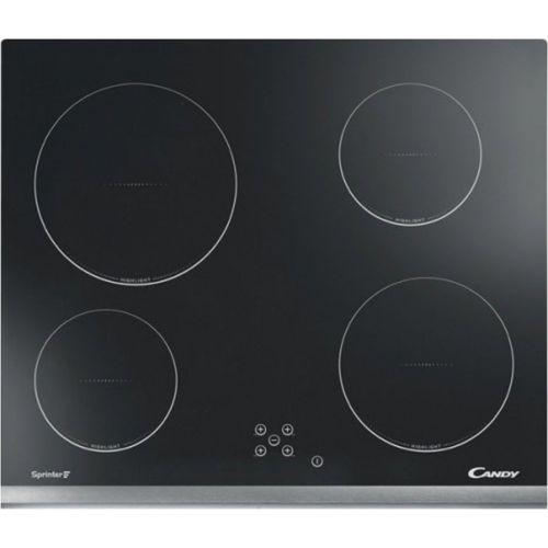 Встраиваемая электрическая панель Candy CH 64 XB чёрный черного цвета