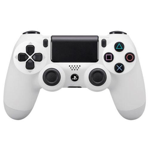 Геймпад для приставки Sony PS4 Dualshock 4 v2 Color белый белого цвета