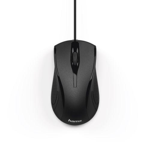 Мышь проводная HAMA MC-200 чёрный черного цвета