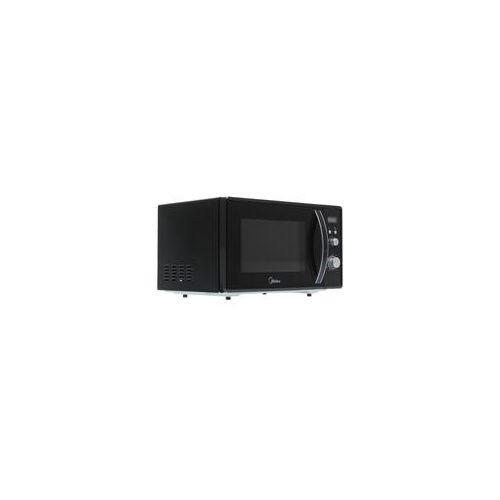 Микроволновая печь Midea AM823AM9-B серебристый/черный фото