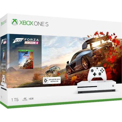 Игровая приставка Microsoft Xbox One S 1 ТБ + Forza Horizon 4 (234-00562) фото