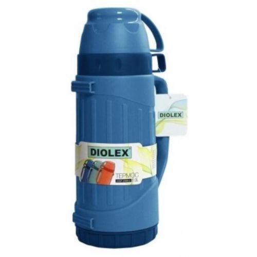 Термос Diolex DXP-600-B синий фото